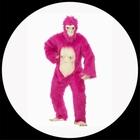 Gorilla Kost�m - Neonrosa