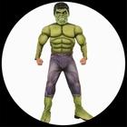 Hulk Avengers 2 Deluxe Kinder Kost�m - Marvel