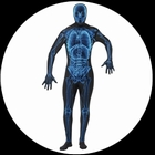 Körperanzug - Bodysuit - Röntgenstrahlen