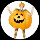 Kürbis Kostüm Erwachsene Aufblasbar