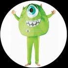 Monster AG - Mike Glotzkowski Kostüm Erwachsene