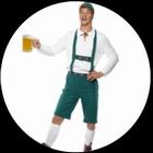 Oktoberfest Kostüm - Lederhosen Kostüm