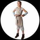 Rey Kinder Kostüm Deluxe EP7 - Star Wars