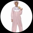 Riesenbaby Kostüm Strampler Rosa