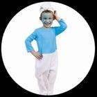Schlumpf Kostüm - Kinder