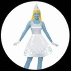 Schlumpfine Kostüm Deluxe - Die Schlümpfe