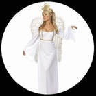 Sexy Engel Kostüm Weiss