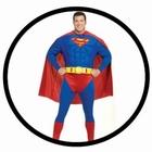 SUPERMAN KOSTÜM XXL - PLUS SIZE