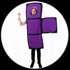 Tetris Kostüm T