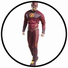THE FLASH DELUXE KOSTÜM - DC COMIC