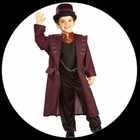 Williy Wonka Kinder Kostüm - Charlie und die Schokoladenfabrik