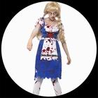 Zombie Dirndl - Zombie Bayerin Kostüm