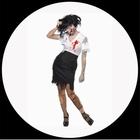 Zombie Büroangestellte Kostüm