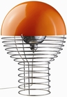 VERNER PANTON LAMPE - WIRE - ORANGE - VERPAN