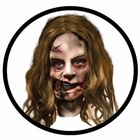 ZOMBIE MASKE - THE WALKING DEAD - KLEINES M�DCHEN