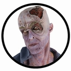 ZOMBIE MASKE - THE WALKING DEAD - VERFAULTER KOPF