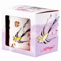 TASSE - ED HARDY - SPARROW AND FLOWERS