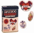 3 x TATTOO PFLASTER SET