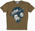 1 x LOGOSHIRT - STAR TREK SHIRT  - PLANET SANDY - BROWN