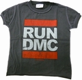 AMPLIFIED - KIDS SHIRT - RUN DMC - CHARCOAL
