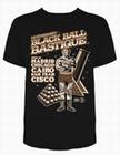1 x BLACK BALL BASTIQUE - STEADY CLOTHING T-SHIRT