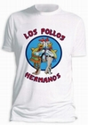 BREAKING BAD T-SHIRT LOS POLLOS HERMANOS WEISS