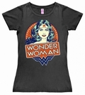 2 x LOGOSHIRT - DC WONDER WOMAN PORTRAIT - GIRL SHIRT