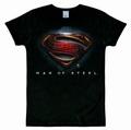 1 x LOGOSHIRT - SUPERMAN - MAN OF STEEL SHIRT