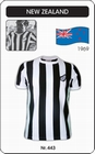 1 x NEW ZEALAND 1969 SHORT SLEEVE - TRIKOT