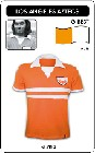 3 x LOS ANGELES AZTECS - BEST 1976 - TRIKOT