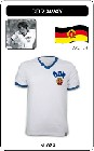 8 x DDR - WORLD CUP 1974 - TRIKOT