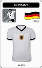 6 x DEUTSCHLAND - BRD - TRIKOT