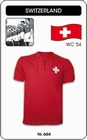 1 x SCHWEIZ - SWITZERLAND - WORLD CUP 1954 - TRIKOT