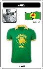 9 x ZAIRE - WELTMEISTERSCHAFT 1974 - TRIKOT