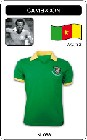 6 x KAMERUN - CAMEROON - WORLD CUP 1982 - TRIKOT