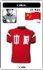 4 x CHINA - PING 1982 - TRIKOT