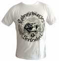 1 x SHIRT - RABENSCHWARZES SEELENHEIL - WEISS