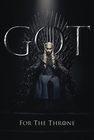 1 x GAME OF THRONES POSTER DAENERYS FOR THE THRONE