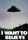2 x I WANT TO BELIEVE
