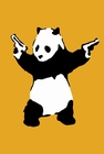BANKSY POSTER PANDA POSTER