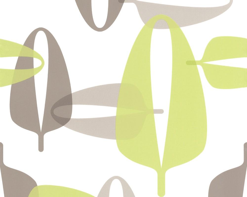 tapete contzen 3 my leafs gr n tapete lars contzen. Black Bedroom Furniture Sets. Home Design Ideas