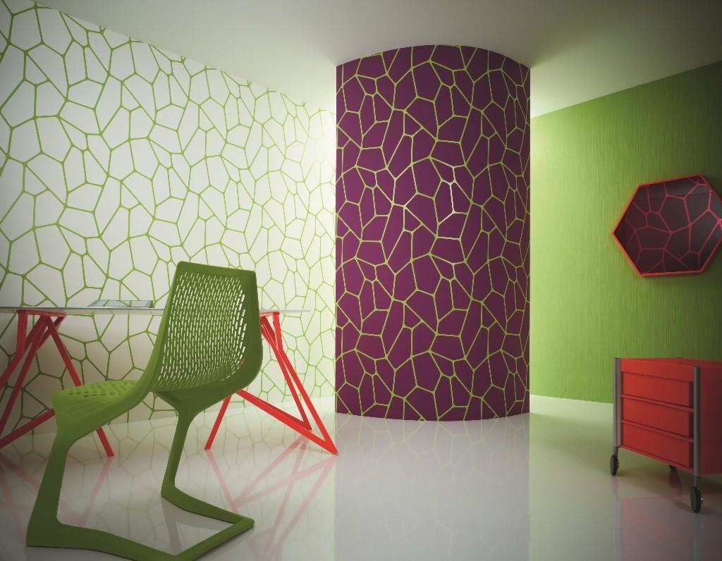 Lars Contzen Tapete Muster : Tapete – Contzen 3 – Micro – Violett Tapete – Lars Contzen III