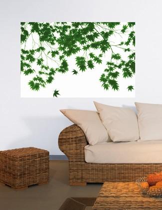 fototapete riesenposter bl tter tapete fototapete natur tapeten bei retro. Black Bedroom Furniture Sets. Home Design Ideas
