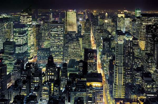 fototapete riesenposter from the empire state building. Black Bedroom Furniture Sets. Home Design Ideas