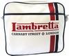 LAMBRETTA TASCHE - STREIFEN WEISS