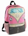 VW Bulli Rucksack klein - pink