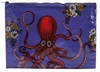 JUMBO ZIPPER TASCHE - OCTOPUS